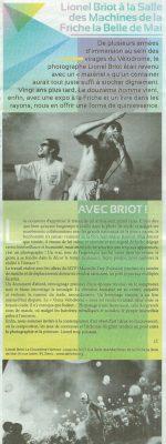 Projet Vélodrome Le douzième homme / Lionel Briot (Exposition / Edition) Journal Ventilo 23.06.16