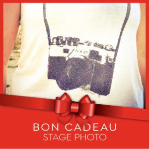 Bon cadeau stage photo