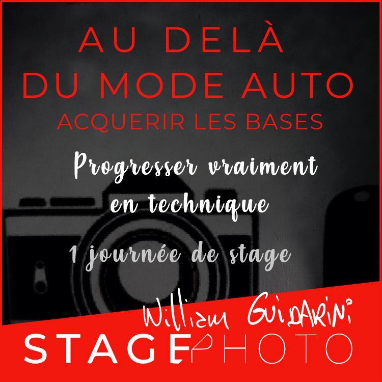 stage photo Au-delà du Mode Auto
