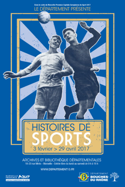 Affiche expo sport