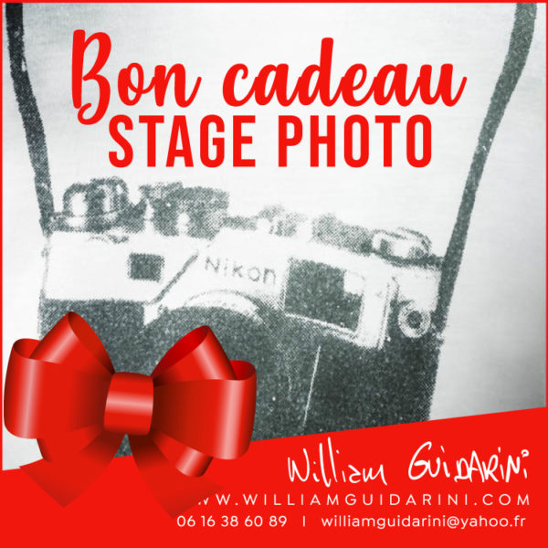 bon cadeau stage photo marseille